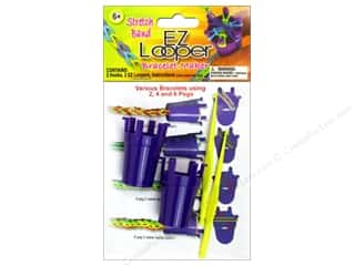 beading & jewelry making supplies: Pepperell Stretch Band Bracelet Maker 4pc