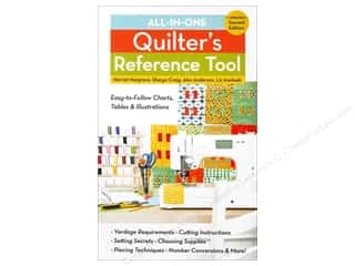books & patterns: C&T Publishing All-in-One Quilter's Reference Tool 2nd Edition Book