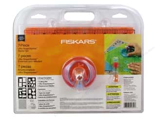 gifts & giftwrap: Fiskars Ultra ShapeXpress Shape Cutter Starter Set