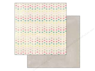 Spring Printed Cardstock: Authentique 12 x 12 in. Paper Flourish Collection Rhythm (25 sheets)