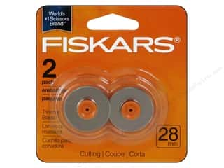 gifts & giftwrap: Fiskars Rotary Trimmer Blades 28 mm Style F Cutting 2 pc