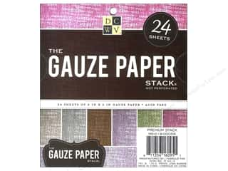 Weekly Specials Project Life Albums: Die Cuts With A View 6 x 6 in. Paper Stack Gauze