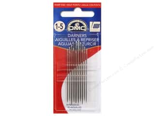 darning needle: DMC Darners Needles Size 1/5 (3 packages)