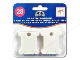 yarn & needlework: DMC Floss Bobbins 28 pc. Plastic