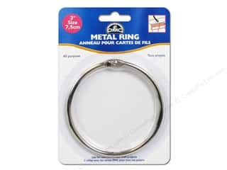 yarn & needlework: DMC Metal Craft Rings 3 in. 1 pc.