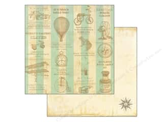 Compass: Marion Smith 12 x 12 in. Paper Never Grow Up Treasure Map (20 sheets)