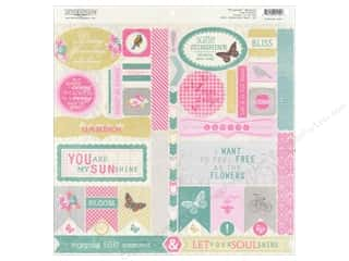 Spring Stickers: Authentique Stickers 12 x 12 in. Flourish Details