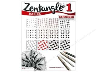 books & patterns: Design Originals Zentangle 1 Basics Expanded Edition Book by Suzanne McNeill