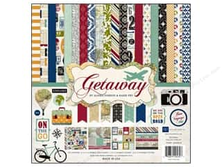 Weekly Specials Echo Park Collection Kit: Echo Park 12 x 12 in. Collection Kit Getaway