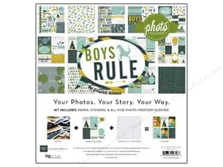 Clearance Echo Park Collection Kit: Echo Park 12 x 12 in. Collection Kit Boy's Rule