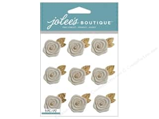 resin: Jolee's Boutique Stickers Resin Flowers Repeat