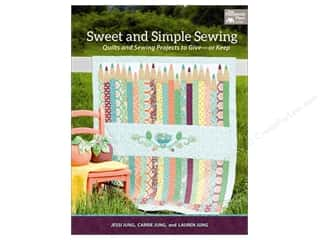 Clearance Pictura Luggage Tag: That Patchwork Place Sweet and Simple Sewing Book by Jessi Jung and Carrie Jung