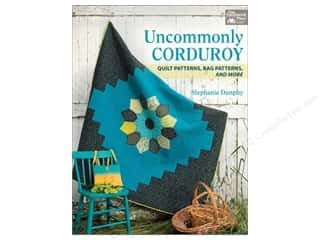 books & patterns: That Patchwork Place Uncommonly Corduroy Book by Stephanie Dunphy