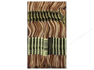 DMC Six-Strand Embroidery Floss #105 Varigated Brown