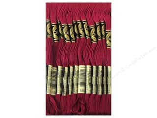 DMC Six-Strand Embroidery Floss #150 Ultra Very Dark Dusty Rose