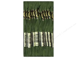 DMC Six-Strand Embroidery Floss #3051 Dark Green Grey
