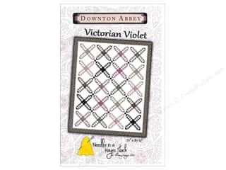 Needle In A Hayes Stack Downton Abbey Victorian Violet Pattern