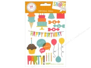 Simple Stories: Simple Stories SN@P! Stickers Birthday