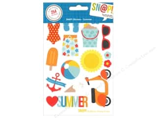 theme stickers  summer: Simple Stories SN@P! Stickers Summer