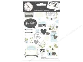 theme stickers  wedding: Simple Stories SN@P! Stickers Wedding