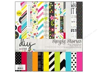 Simple Stories 12 x 12 in. Collection Kit DIY Boutique