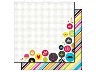 Simple Stories: Simple Stories 12 x 12 in. Paper DIY Boutique No Worries (25 sheets)