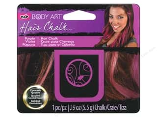 Tulip Body Art Hair Chalk Purple
