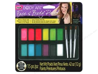 neon glitter: Tulip Body Art Face & Body Paint Palette Neon