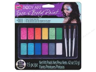 Weekly Specials Leisure Arts Loop-D-Doo Kits: Tulip Body Art Face & Body Paint Palette Shimmer