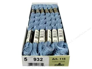 DMC Pearl Cotton Skein Size 5 #932 Light Ant Blue (12 skeins)
