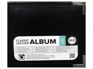 We R Memory Instagram: We R Memory Keepers Instagram Album 4 x 4 in. Classic Leather Black