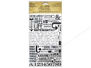 Tim Holtz Idea-ology Remnant Rubs Life Quotes