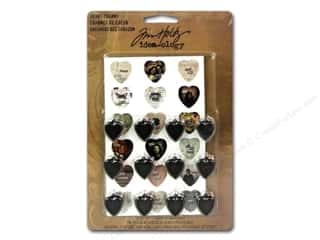 Mothers Day Gift Ideas Scrapbooking: Tim Holtz Idea-ology Heart Charms