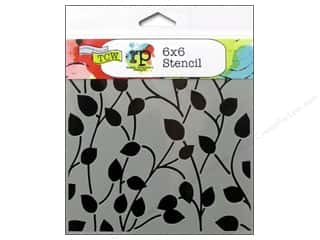 Designers Workshop: The Crafter's Workshop Template 6 x 6 in. Climbing Vine Reversed