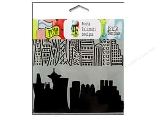 Clearance The Crafters Workshop Template: The Crafter's Workshop Template 12 x 12 in. Skyline