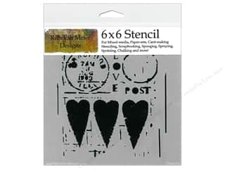 ruler: The Crafter's Workshop Template 6 x 6 in. Love Post