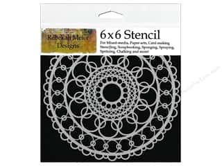 Designers Workshop: The Crafter's Workshop Template 6 x 6 in. Ring Doily