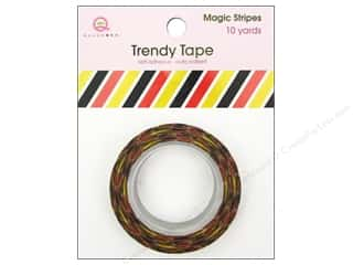 Weekly Specials Glass: Queen&Co Trendy Tape 10yd Magic Stripes