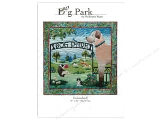 Patterns Clearance: Pine Needles Dog Park Unleashed! Pattern