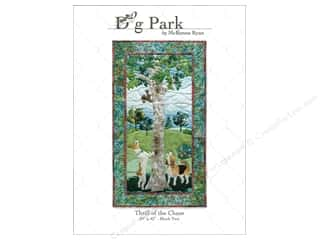 Books & Patterns: Pine Needles Dog Park Thrill Of The Chase Pattern