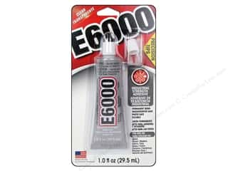 craft & hobbies: Eclectic E6000 Precision Tip Adhesive 1 oz.