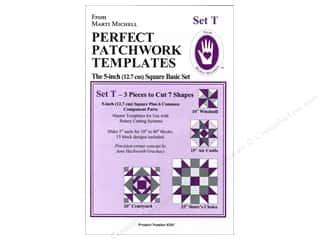 Marti Michell Template Set T New Basic 5""