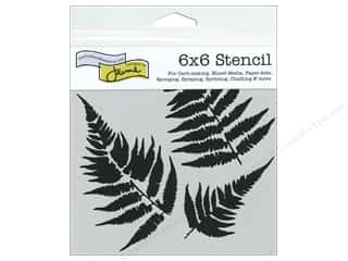 scrapbooking & paper crafts: The Crafter's Workshop Template 6 x 6 in. Ferns