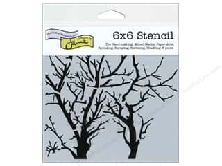 ruler: The Crafter's Workshop Template 6 x 6 in. Branches Revised