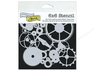 Clearance The Crafters Workshop Template: The Crafter's Workshop Template 6 x 6 in. Gears