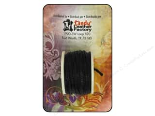 Tandy Leather Sewing Awl Thread Reels 12 1/2 yd. Black