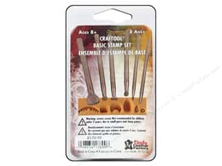 stamps: Leather Factory Tool Craftool Basic Stamp Set 6pc