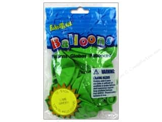 Pioneer Funsational Balloons 12 in. 12 pc. Lime Green