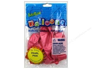 Pioneer Funsational Balloons 12 in. 10 pc. Pearl Pink