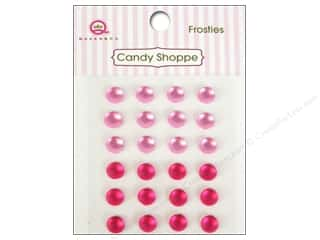 Queen & Company: Queen&Co Sticker Candy Shoppe Frosties Pink